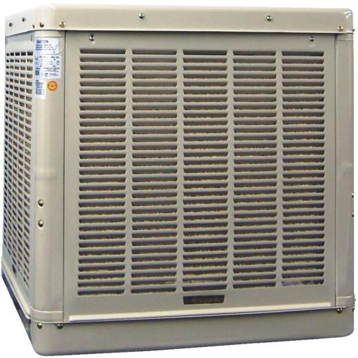 Essick 1810 to 3000 CFM Down Discharge Whole House Aspen Media Residential Evaporative Cooler, 600-1100 Sq. Ft.